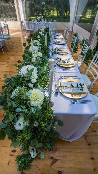 catering weselny z aranżacją sali